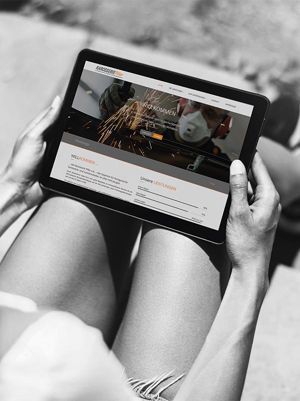 Webdesign mit Leidenschaft